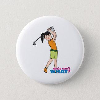 Golfer-girl 1 button