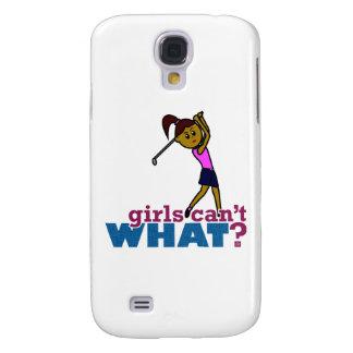 Golfer Girl Galaxy S4 Cases