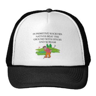 golfer golfing joke trucker hat