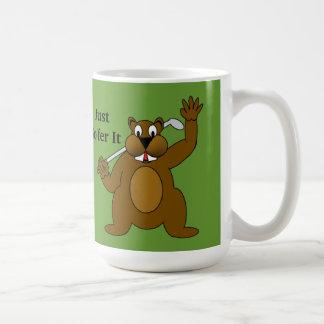 Golfer Gopher Just Go'fer It! Coffee Mug