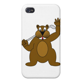 Golfer Gopher Just Go'fer It! iPhone 4/4S Cover