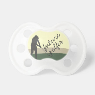 Golfer  Hitting the Ball Pacifier