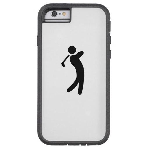 Golfer Icon iPhone 6 Case