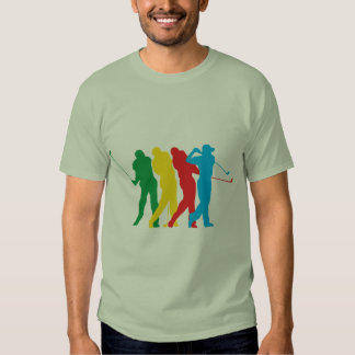 Golfer In Motion Tee Shirt