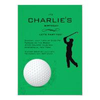 Golfer Invitation