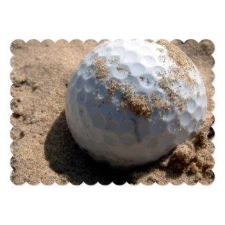 Golfer Personalized Invitation