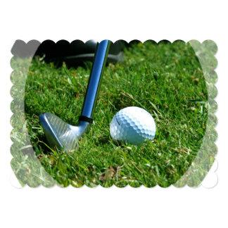 Golfer Personalized Invite