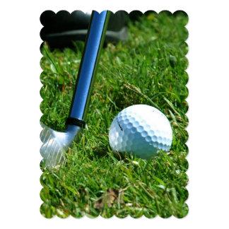 Golfer Personalized Invites