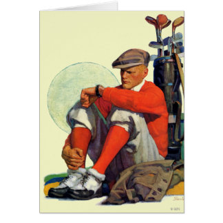 Golfer Kept Waiting Card