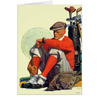 Golfer Kept Waiting Card
