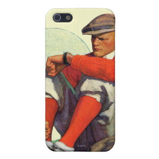 Golfer Kept Waiting Cover For iPhone SE/5/5s