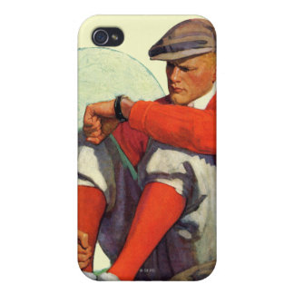 Golfer Kept Waiting iPhone 4 Cases