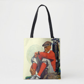 Golfer Kept Waiting Tote Bag