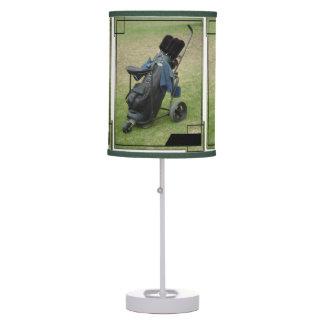 Golfer Lamp