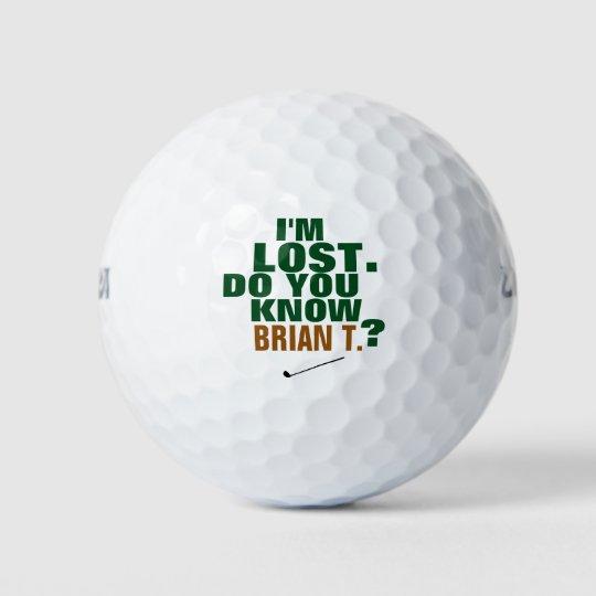 golfer lost-ball golf balls