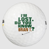 golfer lost-ball golf balls