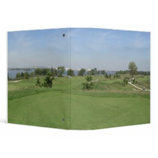 Golfer Lover's Binder binder