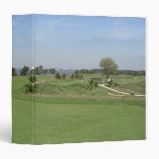 Golfer Lover's Binder