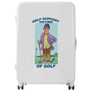 Golfer Luggage - Suitcase for Golfers