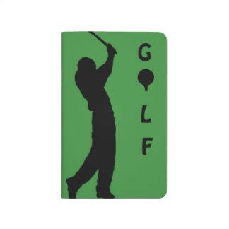 Golfer Notepad/journal Journal