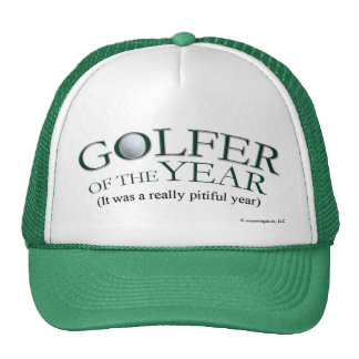 Golfer of the Year Trucker Hat