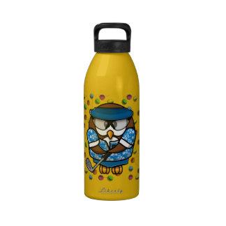 golfer owl drinking bottles