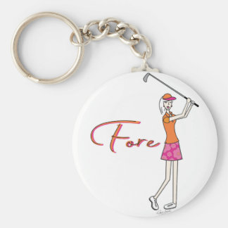 Golfer_Palm Beach Lady Collection Keychain