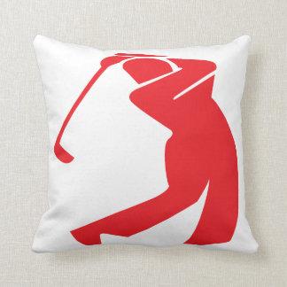 Golfer Pillow