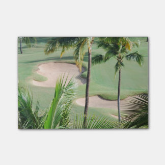Golfer Post-it® Notes