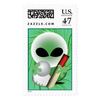 Golfer  Postage