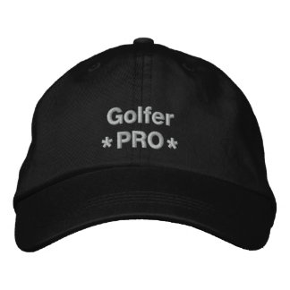 Golfer Pro Embroidered Baseball Hat