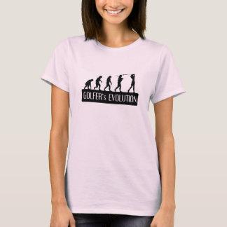 Golfer's Evolution (Women's) T-Shirt