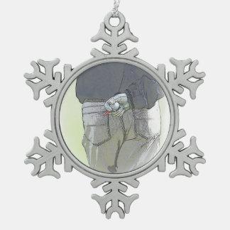 Golfer Snowflake Ornament