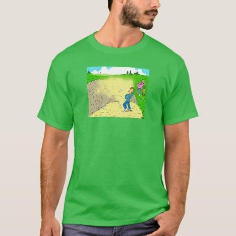 Golfer Stuck in a Bunker T-Shirt