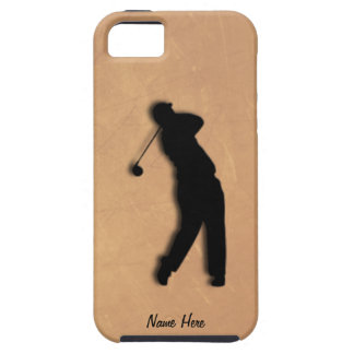 Golfer Tee Off iPhone 5 Personal Case
