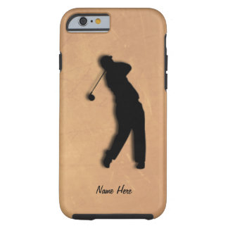Golfer Tee Off  Personal Tough iPhone 6 Case