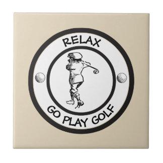 Golfer Tile