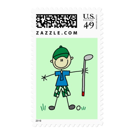 Golfer Tshirts and Gifts Postage