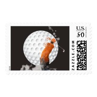 GOLFER - US Postage Stamps