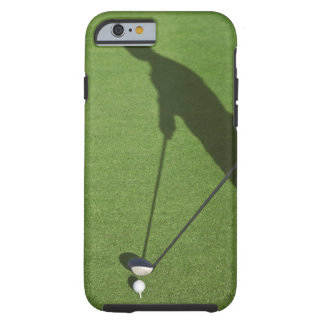Golfer with driver prepares for swing tough iPhone 6 case
