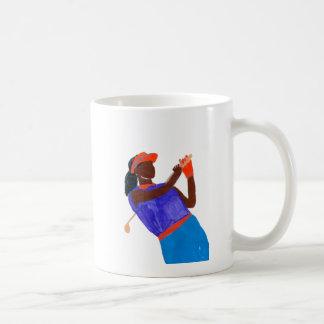 Golfer Woman Coffee Mug