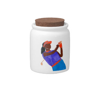 Golfer Woman.png Candy Jars
