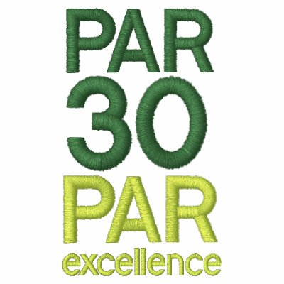 Golfers 30th Birthday Party Par 30 Shirts Polo Shirt