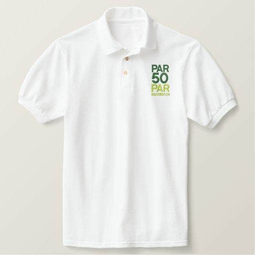 Golfers 50th Birthday Party Shirts