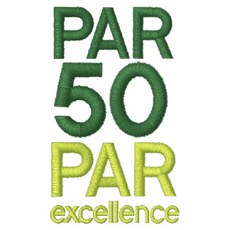 Golfers 50th Birthday Party Shirts Polo Shirt