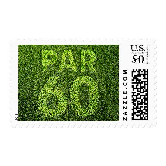 Golfers 60th Birthday Par 60 Party Postage