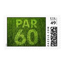 Golfers 60th Birthday Party Postage