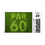 Golfers 60th Birthday Party Postage Stamps