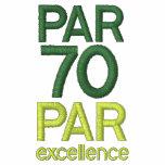 Golfers 70th Birthday Party Par 70 Shirts Polo