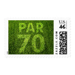Golfers 70th Birthday Party Par 70 Stamp